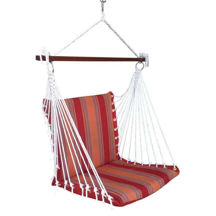 premium outdoor garden swing furniture sunrise stripes